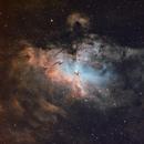 M 16 the Eagle Nebula,                                Israel Lozano Pérez