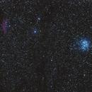 Pleiades open cluster and California nebula.,                                Olivier PAUVERT
