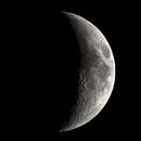 Crescent moon // 2 piece mosaic,                                Olli67