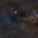 Lagoon Nebula,                                rondelrosario