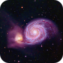 Messier 51: The Whirlpool,                                David Redwine