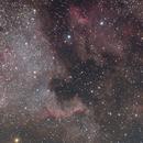 NGC7000, IC5070, IC5067 - North America nebula and Pelican nebula - 8.5.2021,                                Michal Vokolek