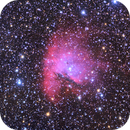 Pac Man Nebula,                                Michael Finan