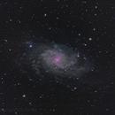 M33 in HaLRGB,                                rkayakr