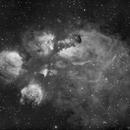 NGC 6334 - Cats Paw Nebula in Scorpius,                                Bruce Rohrlach