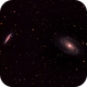 M82 and M81 Cigar and Bode's Galaxies,                                Tristram