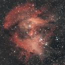 IC2944 - The Running Chicken Nebula,                                NocturnalAstro