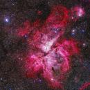 Great Carina Nebula,                                Evan Tsai