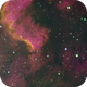 Cygnus Region: Near the North America Nebula,                                orangemaze