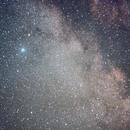 Milky Way with Altair and Barnard's E Nebula,                                Hans-Peter Olschewski
