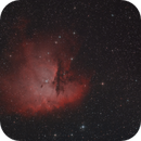 The Pacman Nebula - from home,                                Simon