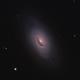 M64 - The Black Eye Galaxy,                                weathermon