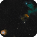 Jellyfish and Monkey nebula.,                                Marvaz