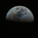 Half Moon in full (perhaps exaggerated) color,                                Aaron Freimark