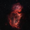 IC 1848 The Soul Nebula,                                George Clayton Yendrey