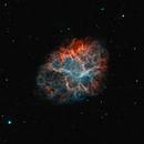 M 1  - Crab Nebula bicolor,                                Lars Stephan