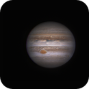 Jupiter le 8 avril 2017 vers 22h19 GMT,                                Laurent3112