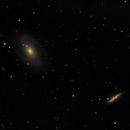M81 e M82 - 20210213 - Evoguide ED50,                                altazastro