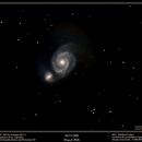 M51 - Whirlpool Galaxy,                                Terry Belia