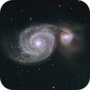 M51 Whirlpool Galaxy,                                David Holko