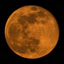 Moon full - deep at horizon,                                Siegfried
