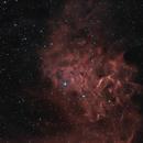 IC405 - La nébuleuse de l'étoile flamboyante,                                ZlochTeamAstro