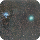 Comet 46/P Wirtanen and M45,                                Rodrigo