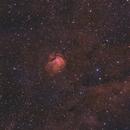 SH2-112 - a small nebula in cygnus - BiColor,                                Jonas Illner