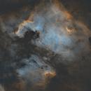 Starless NGC7000 - WO RedCat 51,                                Andrew Burwell