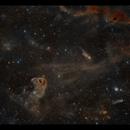 LBN777 The Baby Eagle Nebula in Taurus,                                Göran Nilsson