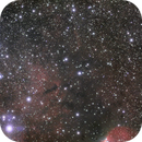 SH 2-140 and SH 2-145 in RGB,                                Janos Barabas