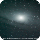 Galáxia de Andrômeda - M31 (14/10/2014),                                Simon Ribeiro