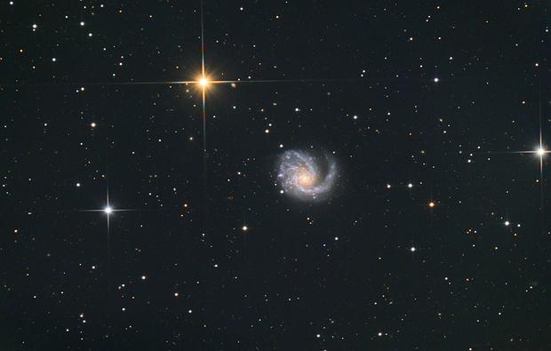 Messier 99,                                Станция Албирео