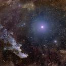 Witch Head Nebula and Rigel,                                Rogelio Bernal An...