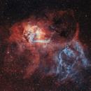 Lion Nebula SH2-132,                                Bosse