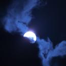 Sun, first try, two filters & clouds,                                Lukas Šalkauskas