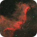 Cygnus Wall Complex in HaOO Bi-colour,                                Graham Roberts