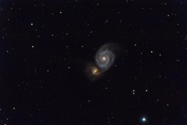 Messier 51,                                Daniel.P