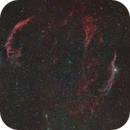 nébuleuse voile HA rgb veil nebulae mosaic,                                cguvn