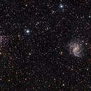 NGC 6946 and NGC 6939,                                leeasle