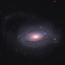 M63 - The Sunflower Galaxy w/tidal streams,                                James E.