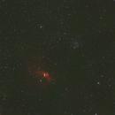 M52 AND BUBBLE NEBULA,                                Astroscrub