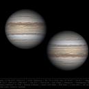 Jupiter 22 Feb 2019 - 4.5 min WinJ composite of non-drizzle stacks,                                Seb Lukas