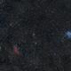 NGC-1499 California Nebula & M-45 Pleiades,                                Txema Asensio