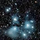 M45 Pleiades,                                Tim Hutchison