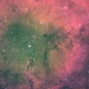 IC 1396 HOS Green Balanced,                                Seldom