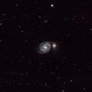 M51. Whirlpool Galaxy,                                Jeff Kuderna