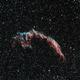 NGC6992: East Veil Nebula (HOO) (2019),                                Daniel Tackley
