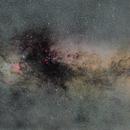 Milky Way with a 50mm Lens,                                Haakon Rasmussen