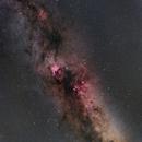Diffuse Nebula in Cygnus, Northern Coalsack and IC1396,                                Hiroyuki Nakaki